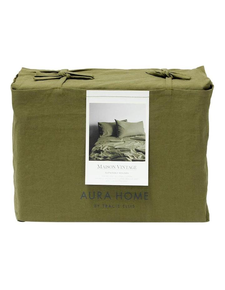 Maison Vintage Sheet Set - Olive image 4