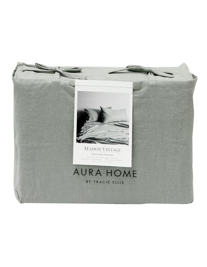Maison Vintage Sheet Set - Limestone image 4