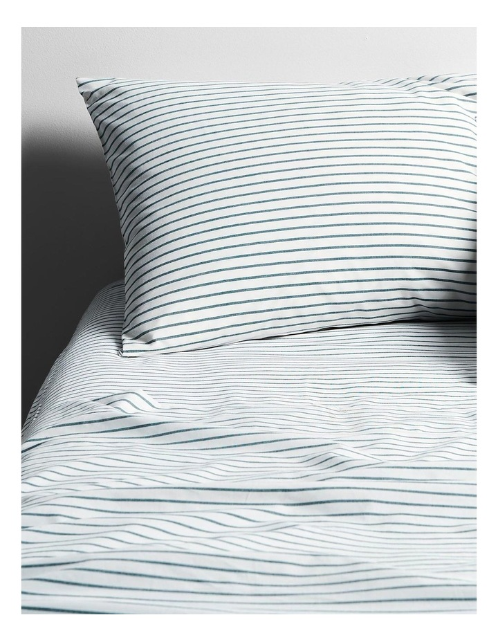 Vintage Stripe Sheet Set In Atlantic image 2