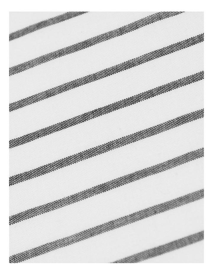 Vintage Stripe Sheet Set In Smoke image 3