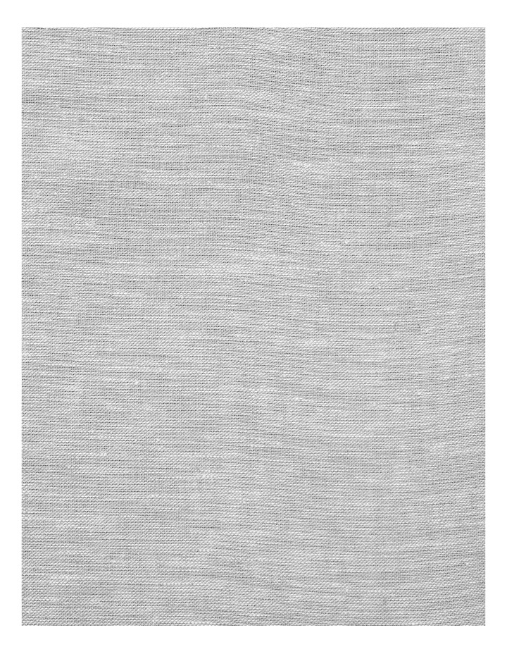 Chambray Fringe Quilt Cover in Dove image 3