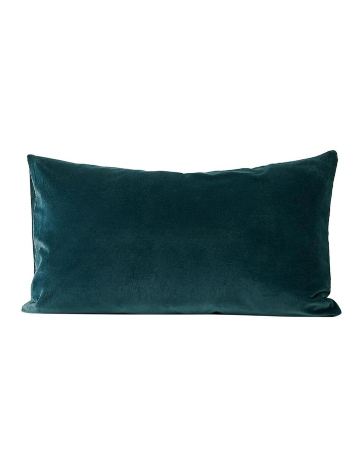 Luxury Velvet Quilt Cover in Indian Teal image 4