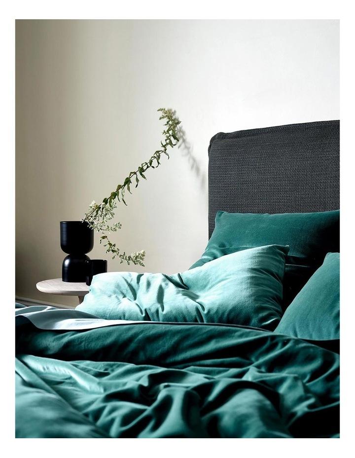 Luxury Velvet Quilt Cover in Forest Night image 2