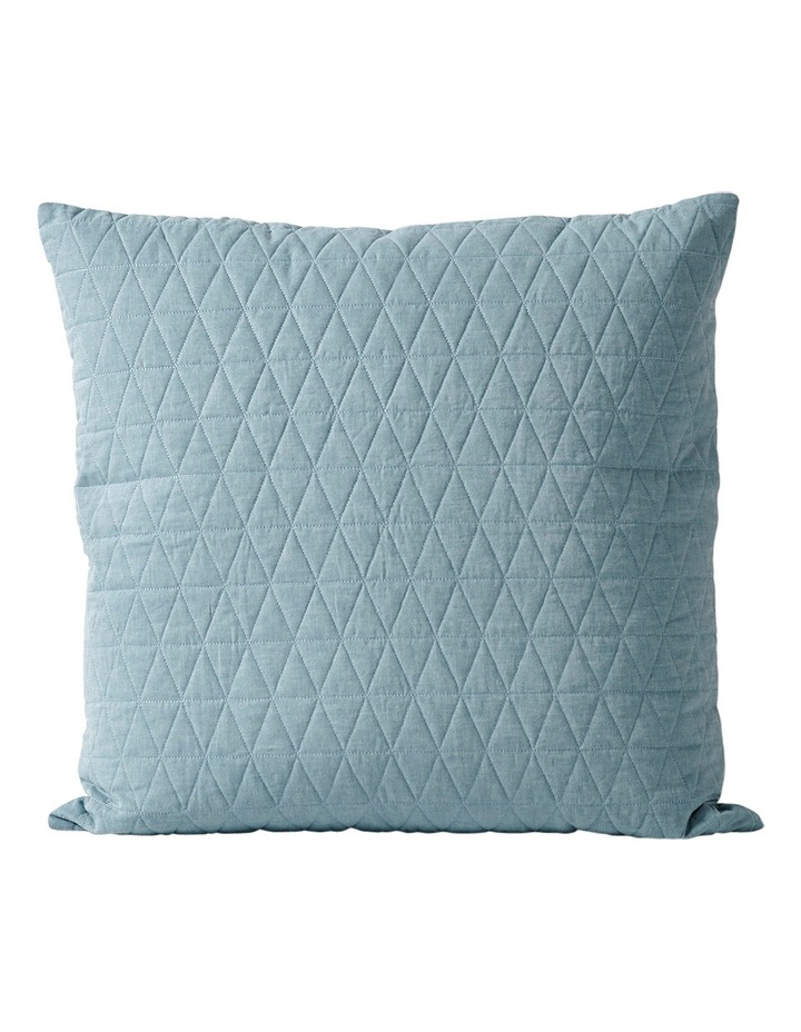 Chambray Quilted Quilt Cover in Eucalypt image 3