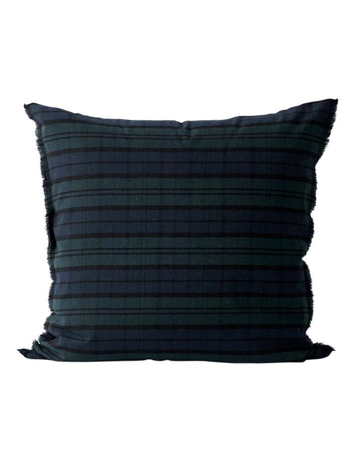 Tartan Quilt Cover in Indigo image 2