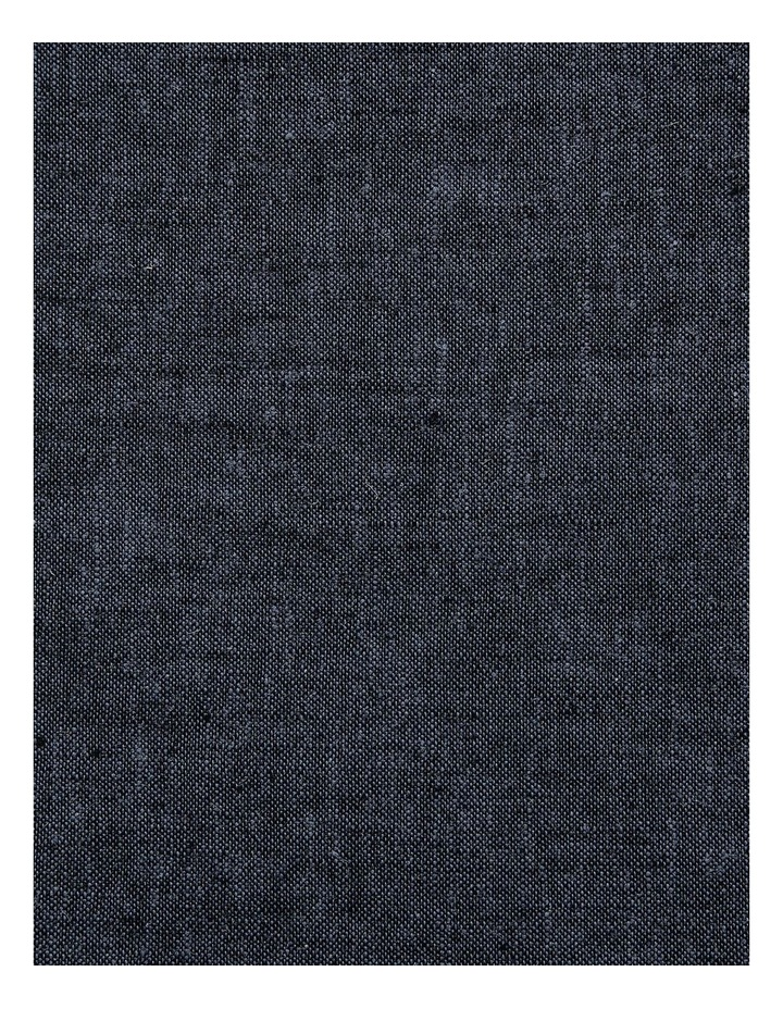 Chambray Fringe Quilt Cover - Ink image 3