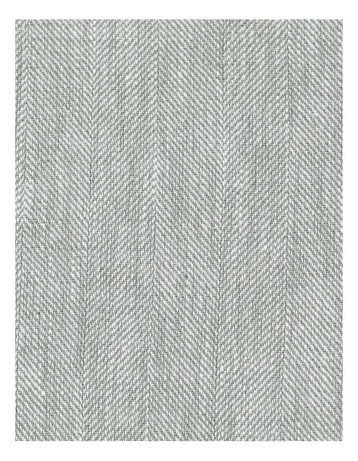 Herringbone Twill Quilt Cover in Limestone image 2
