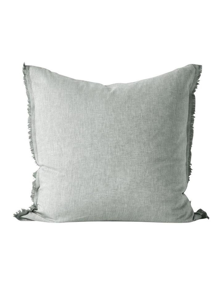 Herringbone Twill Quilt Cover in Limestone image 5