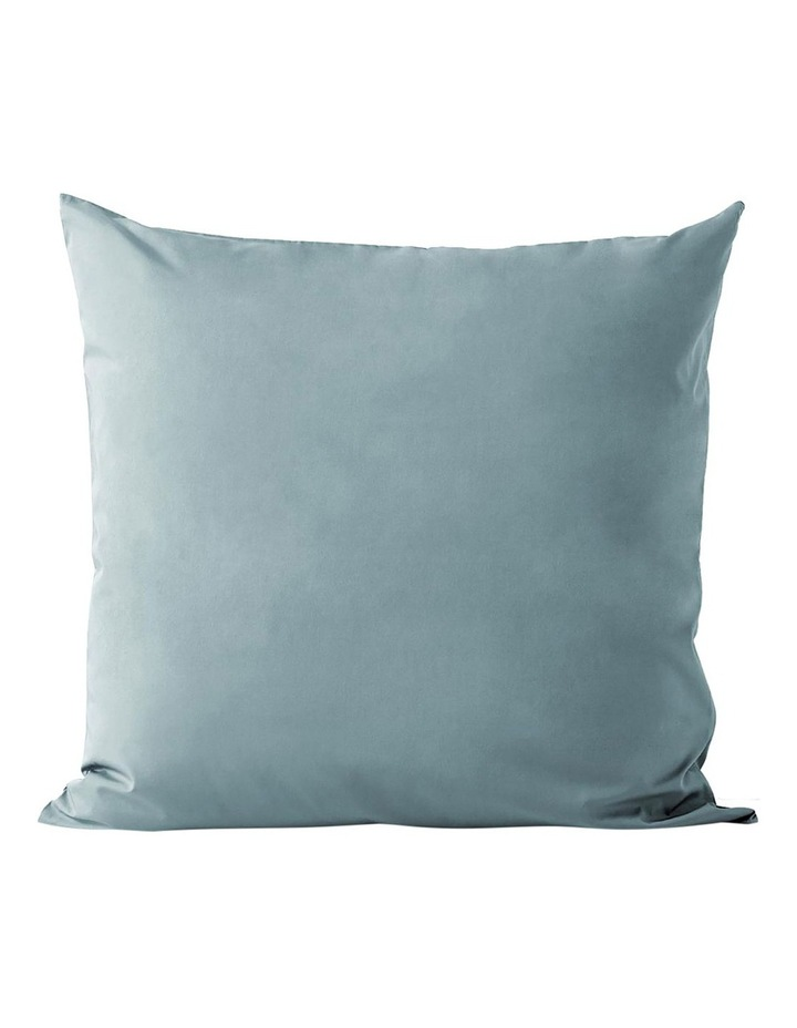 Halo Organic Cotton European Pillowcase - Eucalypt image 1