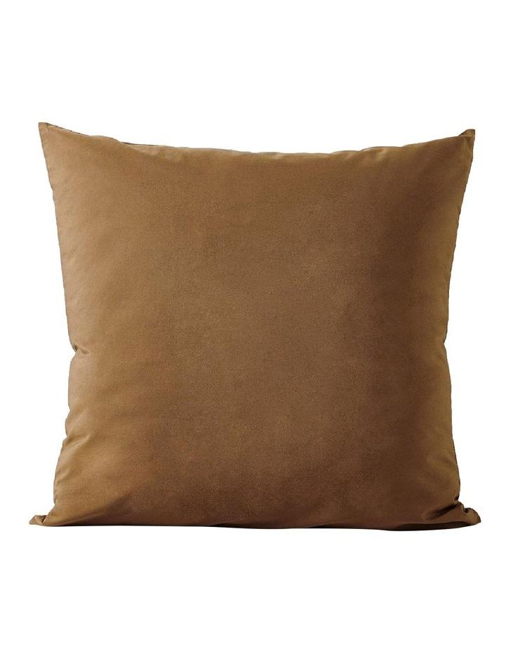 Halo Organic Cotton European Pillowcase - Tobacco image 1