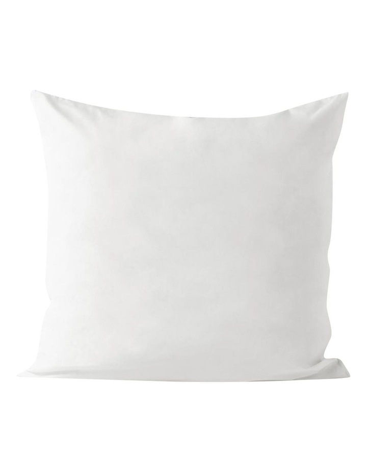 Halo Organic Cotton Quilt Cover in White image 5