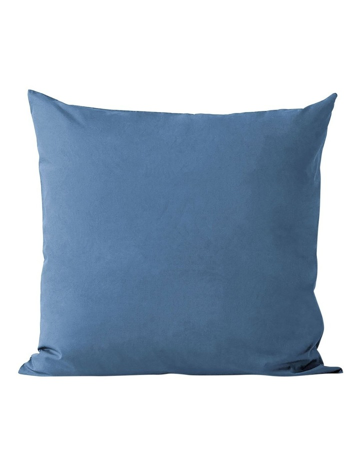 Halo Organic Cotton Quilt Cover in Bijou Blue image 3
