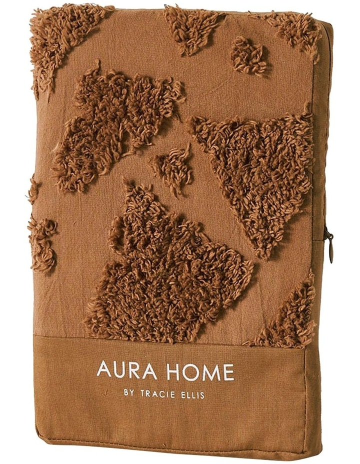 Maya Quilt Cover in Caramel image 6