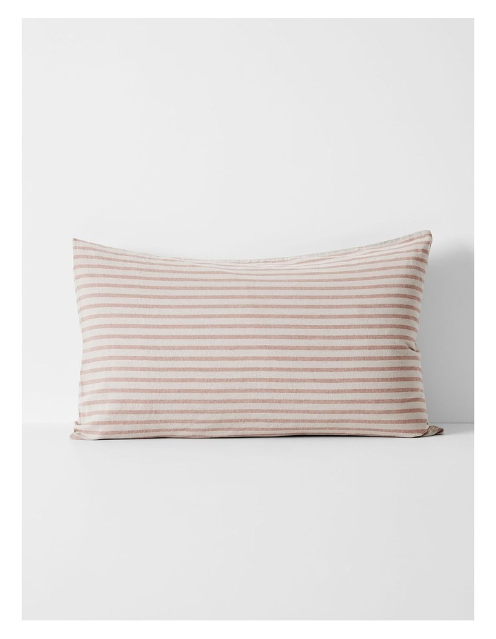 Heirloom Stripe Quilt Cover in Rosewater image 5