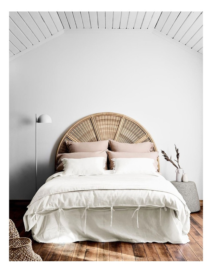 Maison Vintage Quilt Cover in White image 1