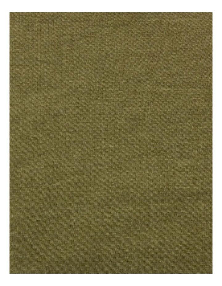 Maison Vintage Quilt Cover in Olive image 3