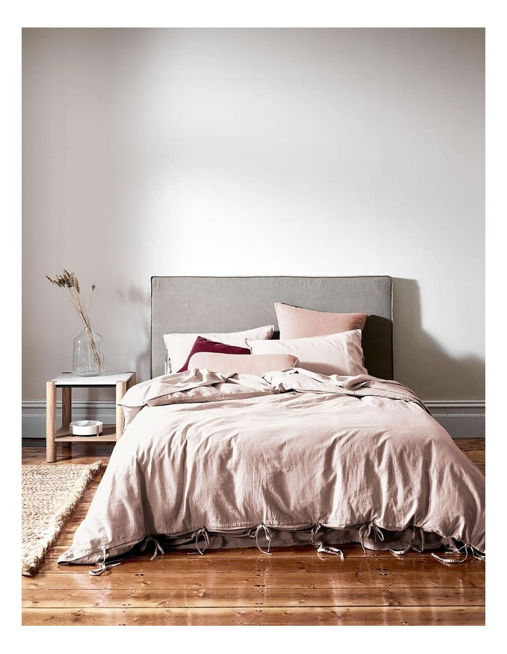 Maison Vintage Quilt Cover in Nude image 2