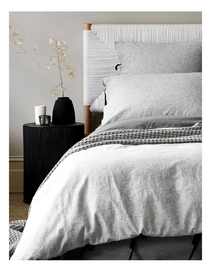 Oxford Quilt Cover - Black image 2