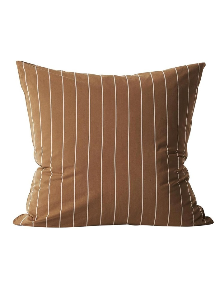 French Stripe Quilt Cover In Bronze image 6