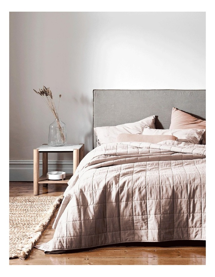 Maison Vintage Bed Cover in Nude image 1