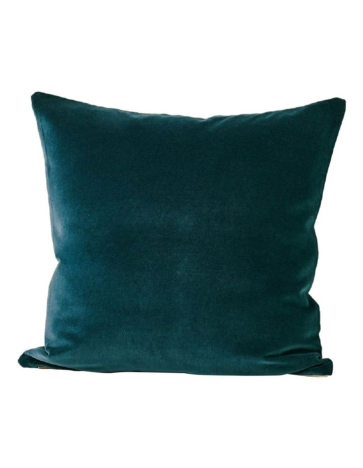 Luxury Velvet Cushion - Indian Teal image 1