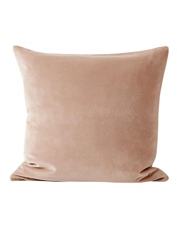 Luxury Velvet Cushion - Rosewater image 1