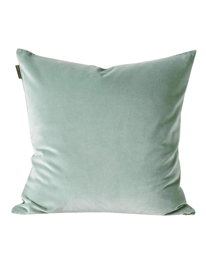 Luxury Velvet Cushion in Jade image 1