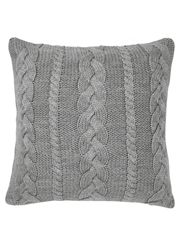 Aura by Tracie Ellis - Jumbo Cable Cushion