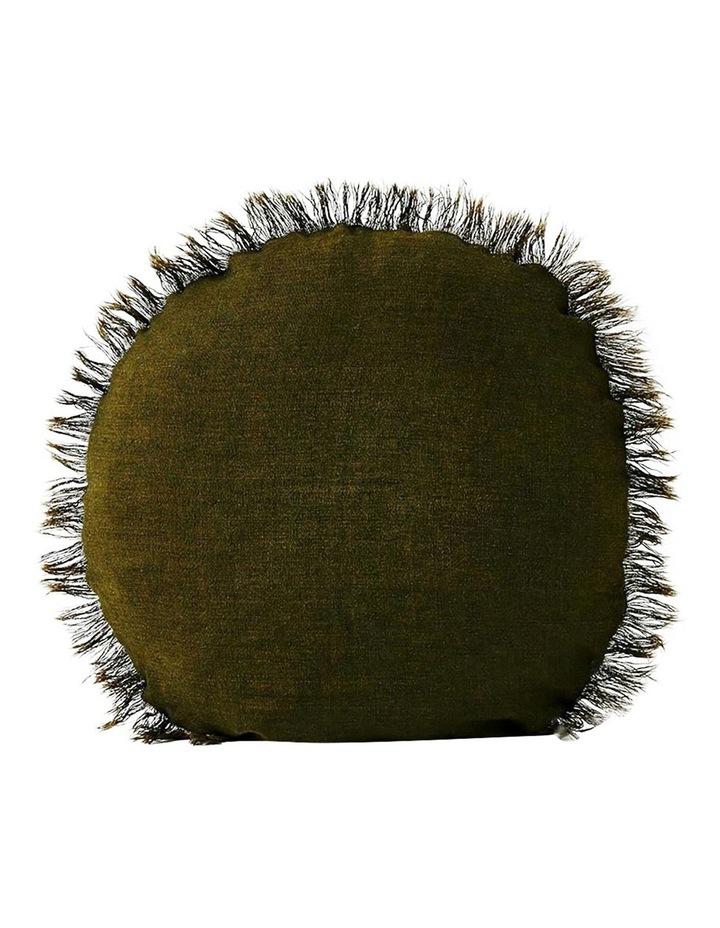 Vintage Linen Cushion Range in Khaki image 1