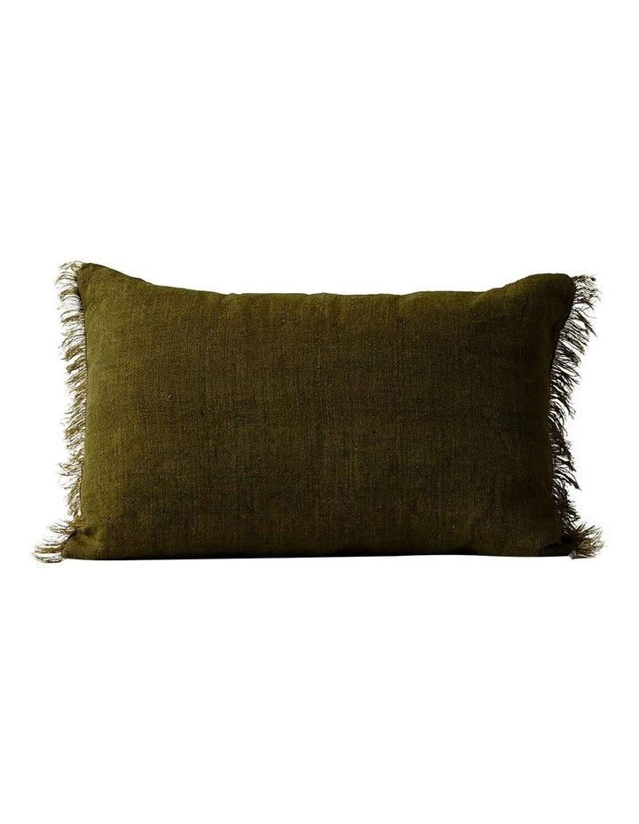 Vintage Linen Cushion Range in Khaki image 3