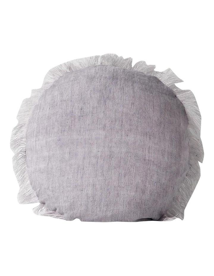 Vintage Linen Cushion Range In Iris image 1