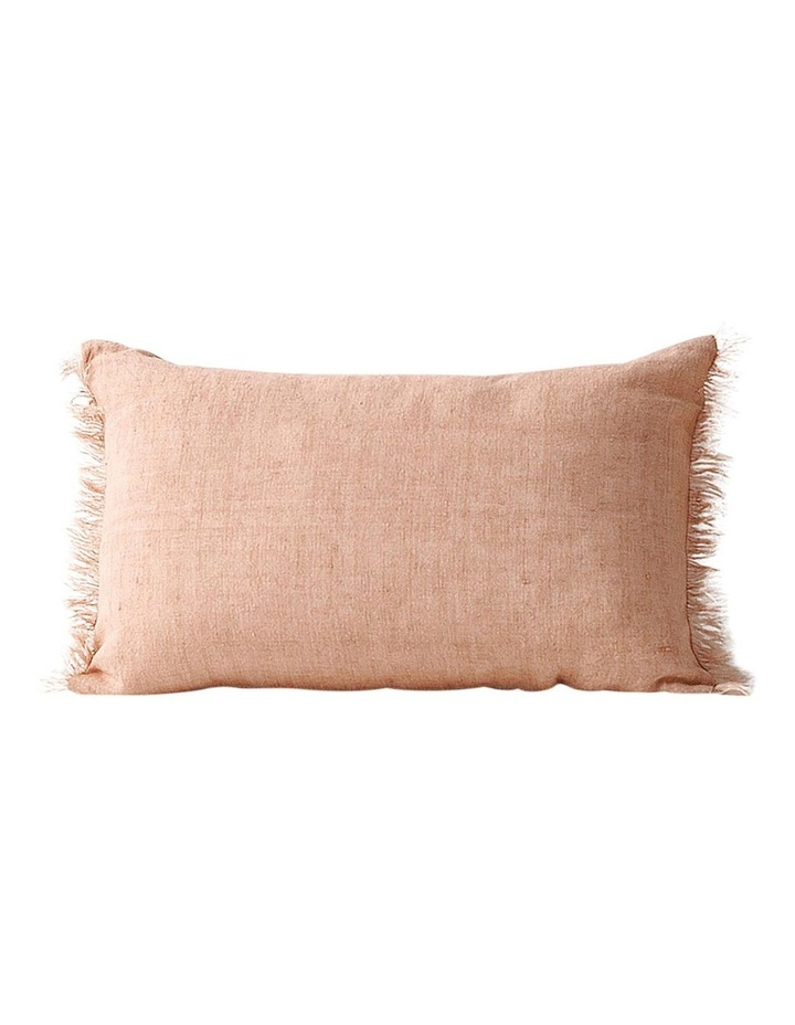 Aura Vintage Linen Cushion Range in Clay image 1