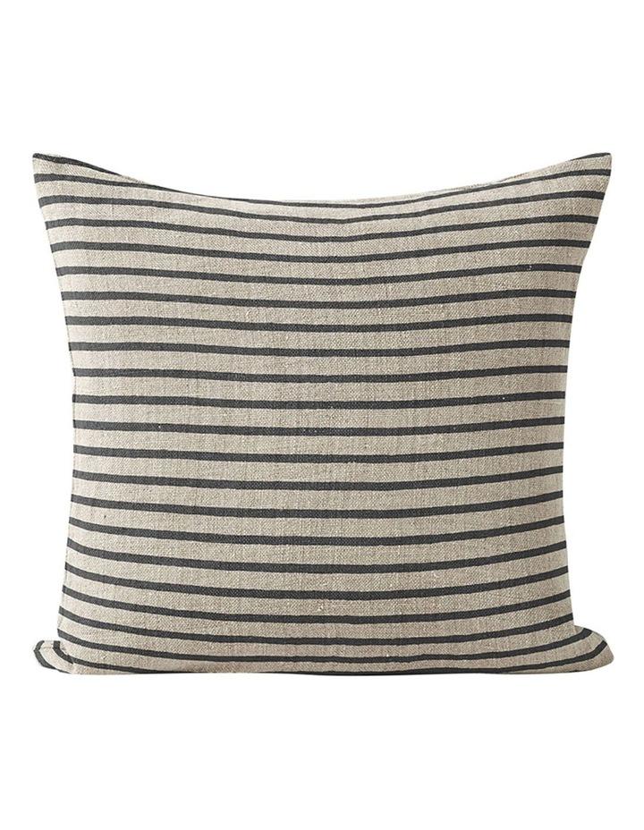 Heirloom Stripe Cushion in Khaki image 1