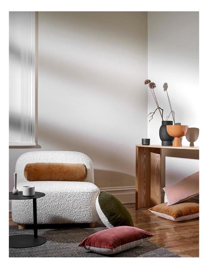 Luxury Velvet Rectangle Cushion in Rosewater image 2