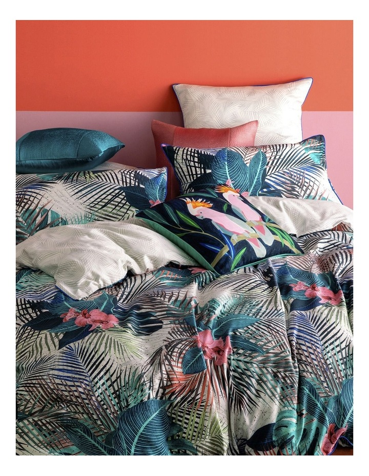Lamora Quilt Cover Set in Multi image 1