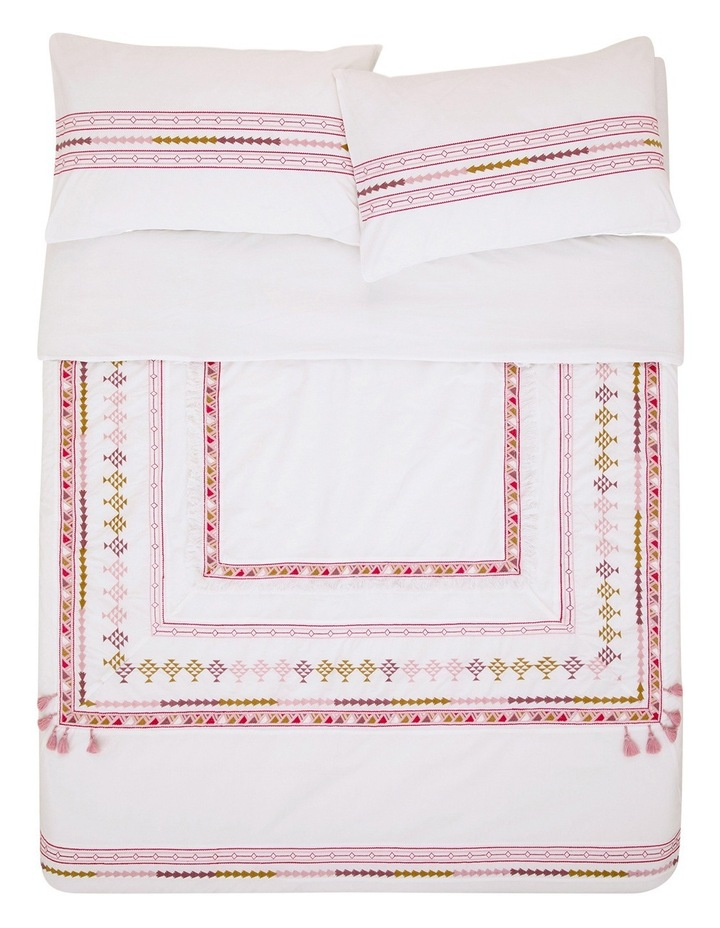 Maria Quilt Cover Set in Multi image 3