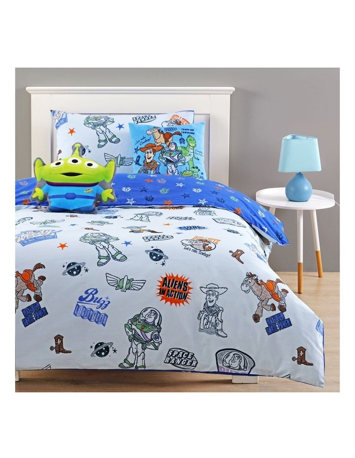 Toy Story Quilt Cover Set in Blue image 1