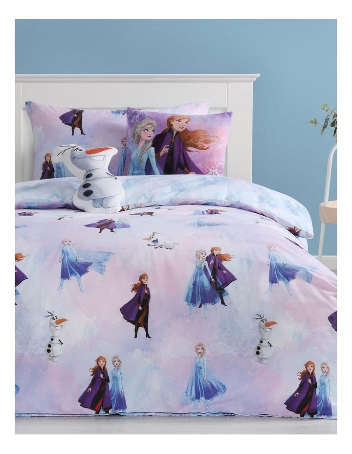 Frozen Quilt Cover Set in Blue image 1