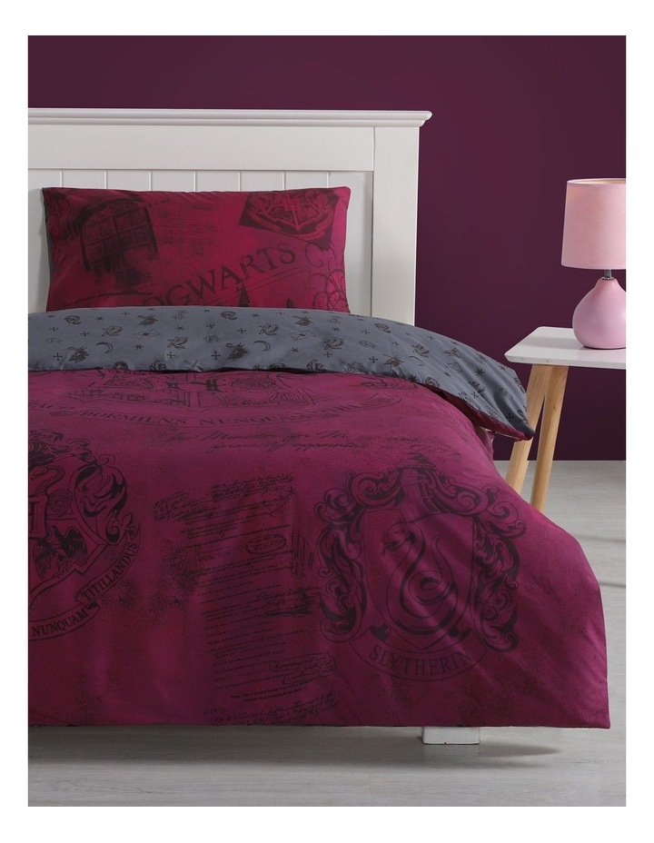 Harry Potter Quilt Cover Set in Red image 1
