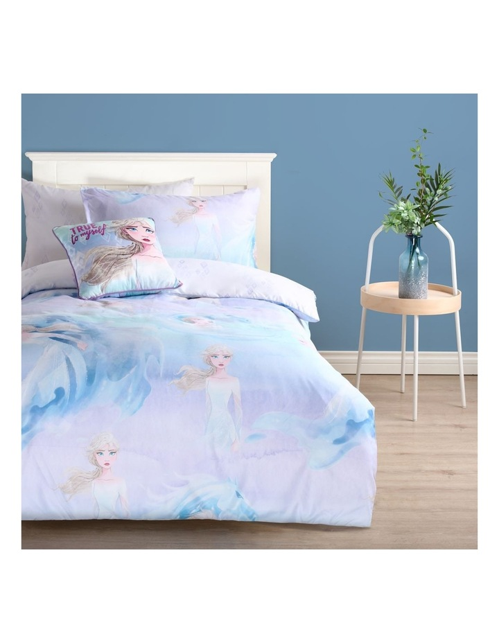 Frozen Elsa Quilt Cover Set in Light Blue image 1