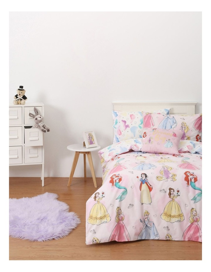 Princess Quilt Cover Set In Multi image 1