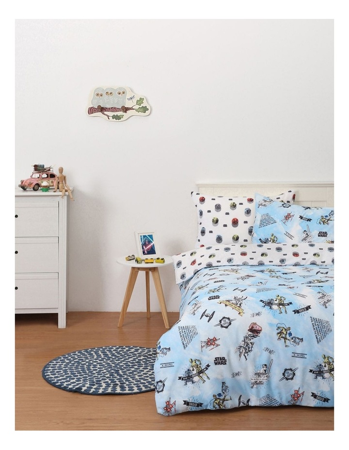 Star Wars Quilt Cover Set In Multi image 1