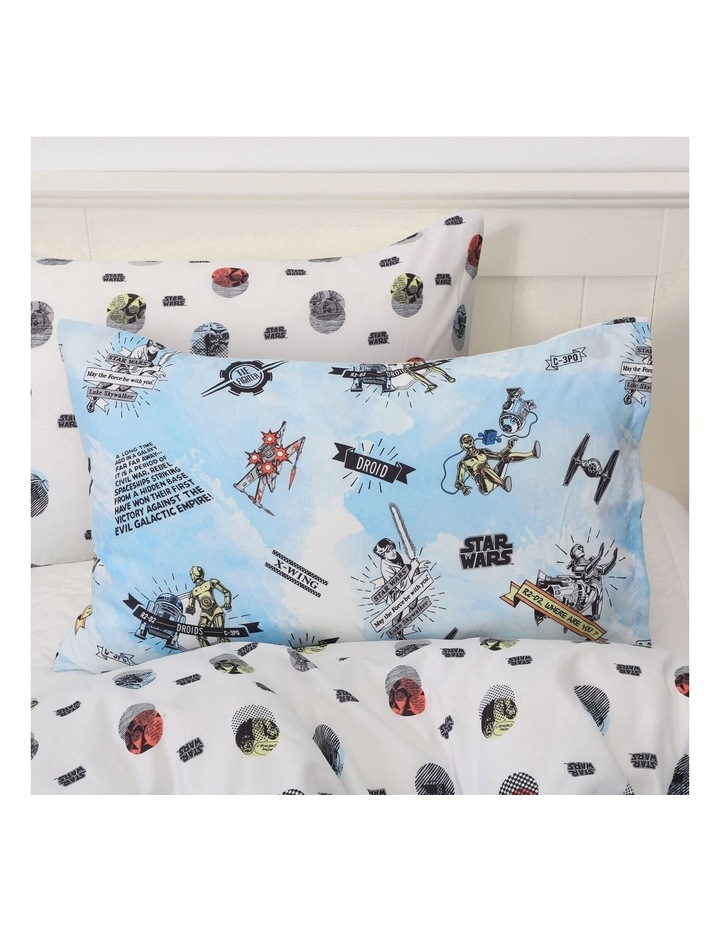 Star Wars Quilt Cover Set In Multi image 2