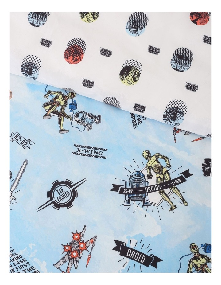 Star Wars Quilt Cover Set In Multi image 3