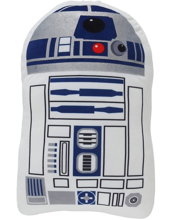 Star Wars R2D2 Cushion in White image 1