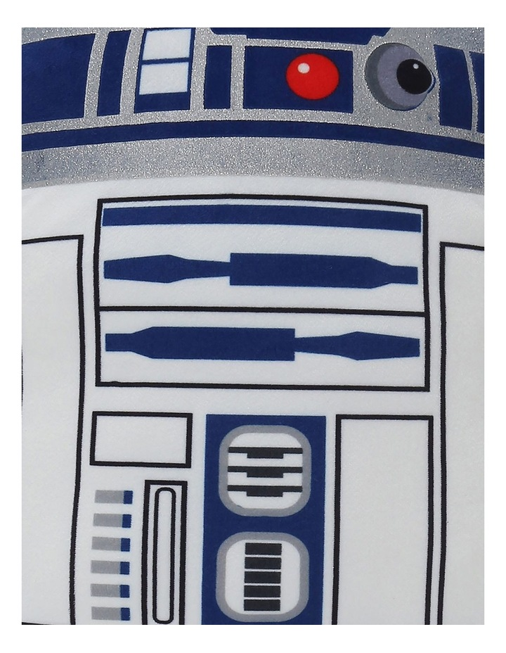 Star Wars R2D2 Cushion in White image 2