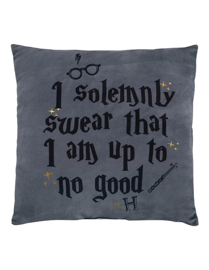 Harry Potter Up To No Good Cushion in Multi image 1