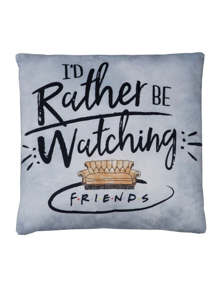 Cushion I Would Rather be Watching Cushion image 1