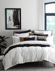 Chiswick Quilt Cover Set in White