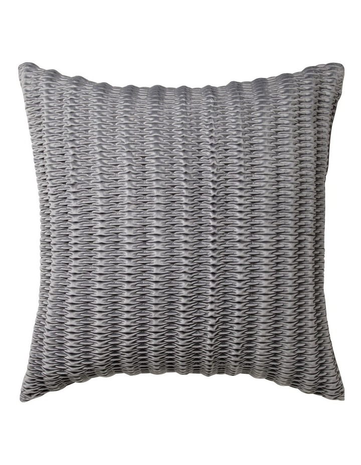 Loxton European Pillowcase in Silver image 1